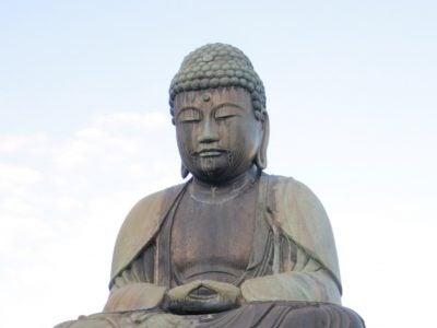 鎌ヶ谷大仏さま。