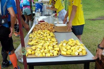 定番のバナナ