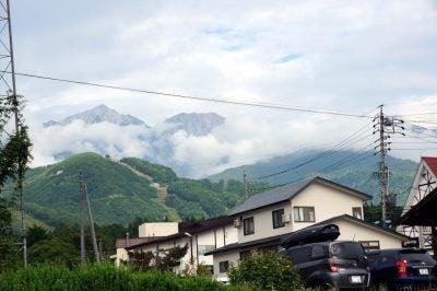 山の天気は変わりやすい after