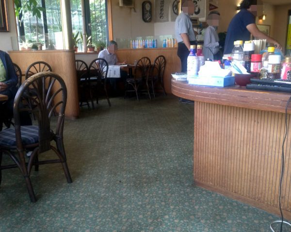 店内は喫茶スペースのままって感じ