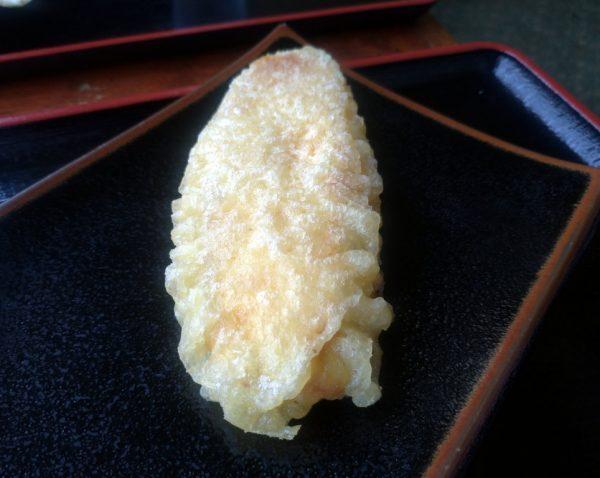 さつまいもの天ぷら。
